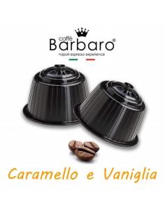 10 Capsule DolceGusto Caffè Barbaro (CARAMELLO E VANIGLIA)