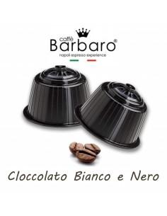 10 Capsule DolceGusto Caffè Barbaro (CIOCCOLATO BIANCO E NERO)