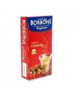 10 Capsule Nespresso Caffè Borbone (GINSENG)