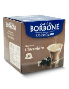 16 Capsule DolceGusto Caffè Borbone (CIOCCOLATA)