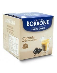 16 Capsule DolceGusto Caffè Borbone (CORTADO)