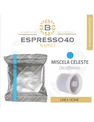 80 Capsule Compatibili ILLY IperEspresso Caffè Barbaro (MISCELA DECAFFEINATO)