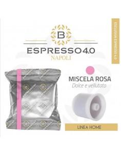 80 Capsule Compatibili ILLY IperEspresso Caffè Barbaro (MISCELA ROSA)
