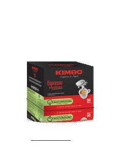 Cialde Caffè Kimbo (MISCELA ESPRESSO NAPOLETANO)