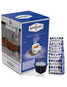 100 Capsule Compatibili DolceGusto Caffè Barbaro (MISCELA BLU)