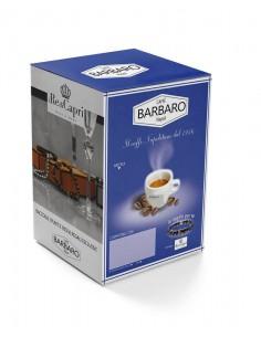 100 Capsule Compatibili Uno System Caffè Barbaro (MISCELA DEK)
