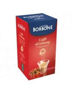 18 Cialde ESE 44 mm Caffè Borbone (CAFFE' AL GINSENG)