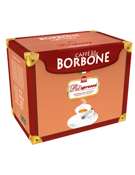 100 Capsule Borbone Respresso (MISCELA BLU)