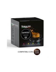 100 Capsule Compatibili DolceGusto Caffè Toraldo (MISCELA DECAFFEINATO)