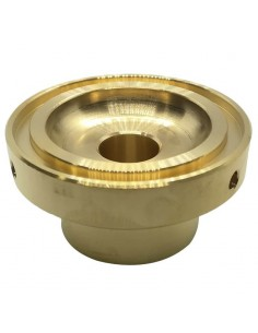 Pressacialda in ottone diametro 38mm macchine caffè FABER