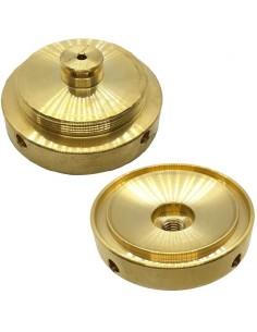 Pressacialda in ottone diametro 44 mm macchine caffè AROMA