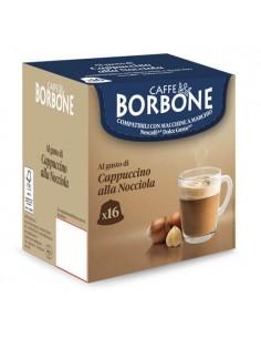 16 Capsule Compatibili DolceGusto Caffè Borbone (CAPPUCCINO ALLA NOCCIOLA)