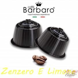 10 Capsule DolceGusto Caffè Barbaro (ZENZERO E LIMONE)