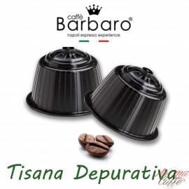 10 Capsule DolceGusto Caffè Barbaro (TISANA DEPURATIVA)