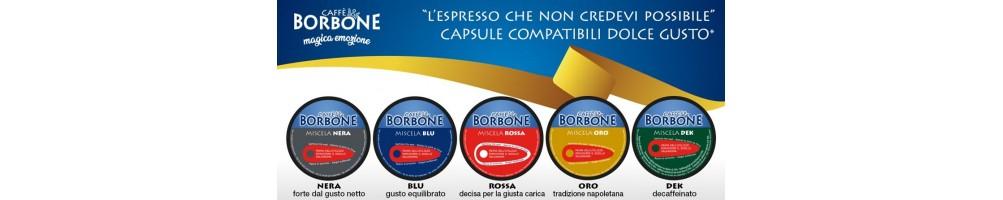Caffè Borbone per DolceGusto Le nuove capsule Dolce RE
