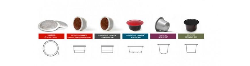 Vendita Cialde e Capsule per caffè Espresso Originali e Compatibili