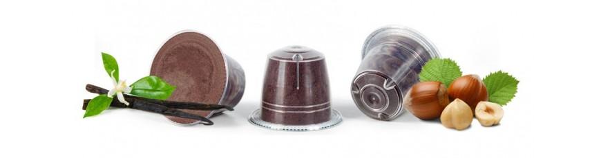 Caffè aromatizzati in cialde e capsule